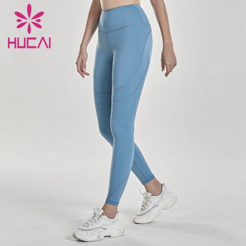 Wholesale workout leggings women's hip lifting yoga training pants