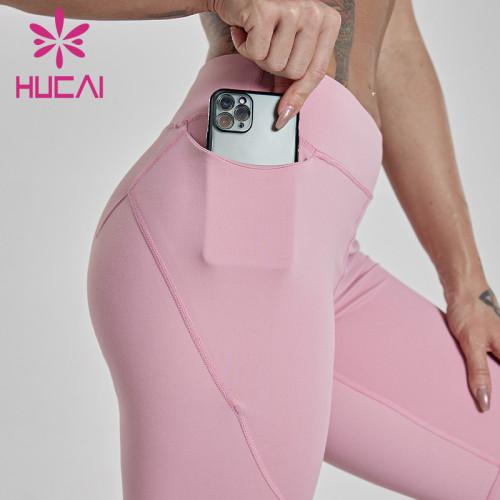 High waist Fitness Yoga Pants wholesale leggings with pockets