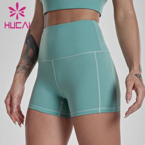 Sports running Yoga Pants Training Shorts hot pants custom athletic leggings