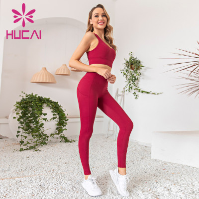 Custom workout apparel professional training tight fast drying gym suit for women