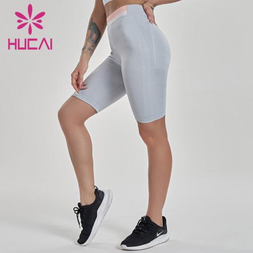 Wholesale yoga shorts women's high waist hip lifting sexy tight yoga sports Capris