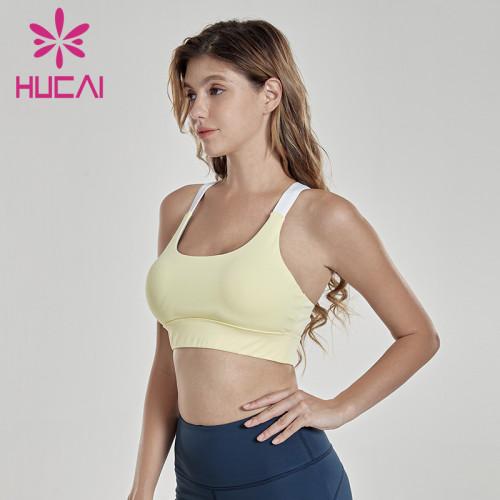 High intensity anti shock sports bra Yoga underwear wholesale sports bras