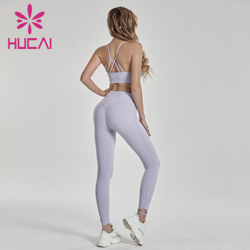 Fitness sling suit sexy back thin wholesale athletic clothing distributors