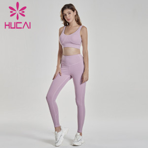 Women's shockproof running underwear and fitness suit athletic wholesale apparel