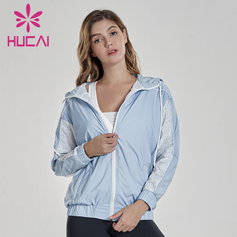 Loose training suit quick dry lightweight running jacket unbranded gym clothing wholesale
