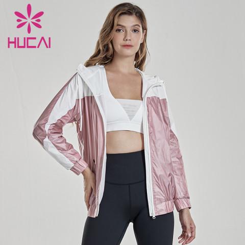 Women's outdoor fitness coat running sports coat wholesale activewear suppliers