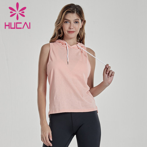 Women's loose fit running fitness Hoodie gym clothes manufacturer