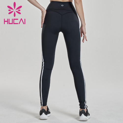 wholesale gym leggings, high elastic tights, high waisted fitness pants