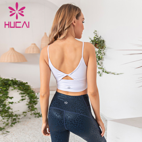 Yoga suit with beautiful back sling is fresh, natural and comfortable wholesale activewear suppliers