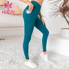 Stretch tight and breathable hip lifting sports pants wholesale activewear leggings