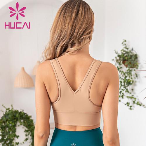 Large V-neck widened hem fitness suit women's activewear sets wholesale