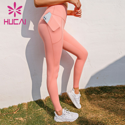 Yoga pants wholesale usa women's high waist fitness pants