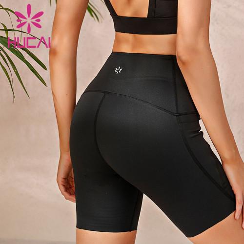 Spandex biker shorts wholesale tight stretch bottoming Yoga Pants running hot pants summer