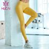 wholesale yellow yoga leggings gym gym pants