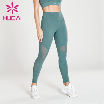 wholesale mint green yoga leggings gym gym pants
