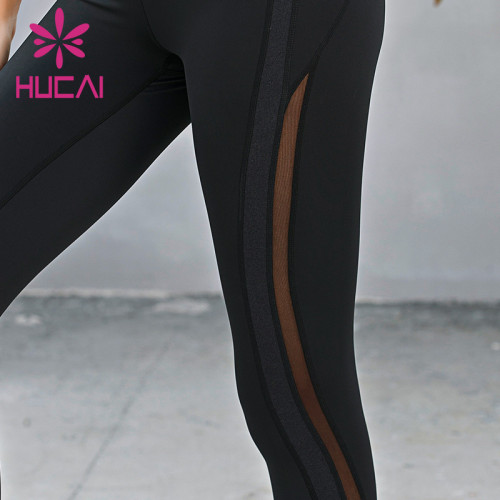 wholesale tropical yoga leggings breathable and quick drying fitness pants