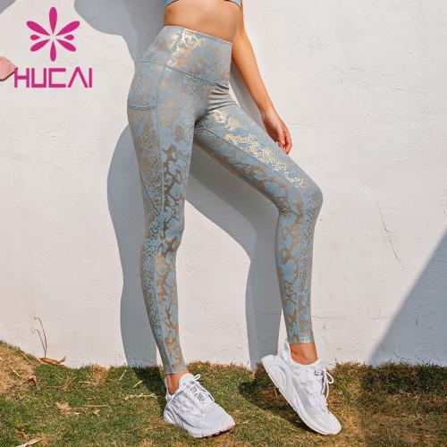 wholesale beautiful sparkle yoga leggings
