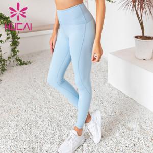 wholesale yoga leggings eco friendly high waist hip fitness pants