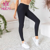 wholesale pit pattern ribbed yoga leggings