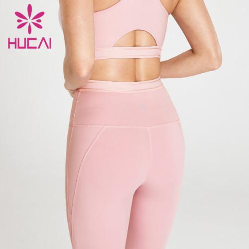 wholesale pink yoga pants leggings