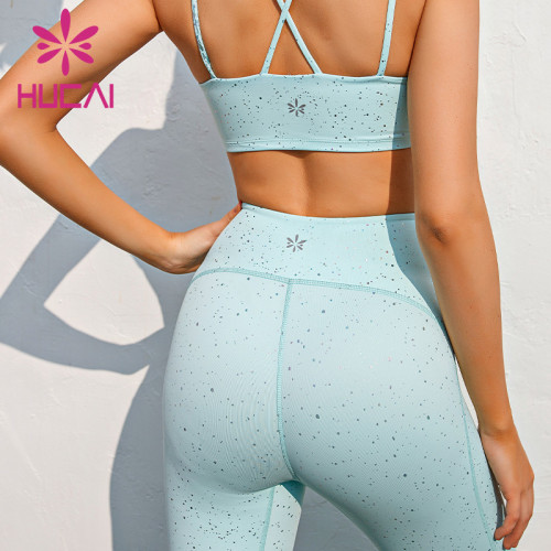 wholesale best printed yoga leggings high waist breech pants