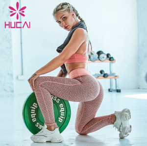 wholesale plaid yoga leggings