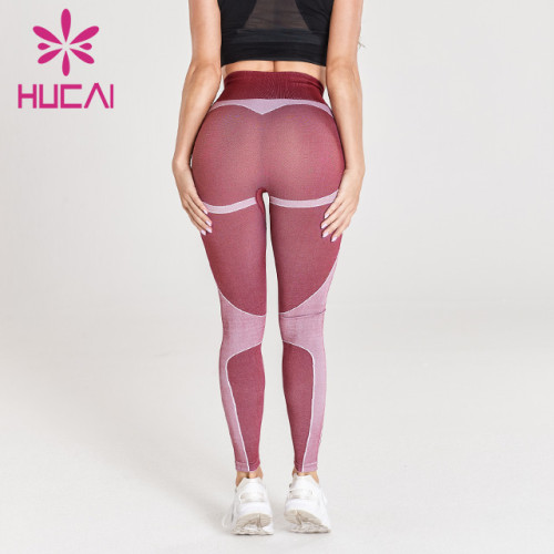 wholesale yoga pants with seamless design