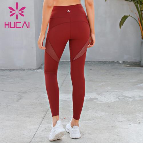 wholesale best fitting yoga leggings high quality high waist fitness pants