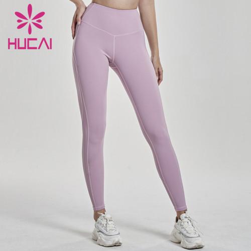 wholesale fashion yoga leggings high quality high waist fitness pants