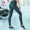wholesale baby blue yoga leggings high quality hip lifting fitness pants