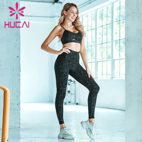wholesale floral yoga leggings hip lifting fitness pants