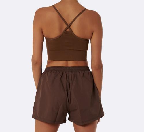 womens sweat shorts wholesale elastic waist black jogger pants