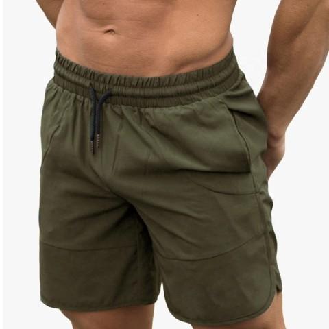 wholesale mens drawstring sports shorts
