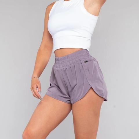 custom spandex women's running shorts