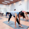 The first fitness yoga class in 2021