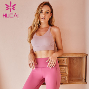 Wholesale Womens Workout Clothes Gym Sports Bra Tops