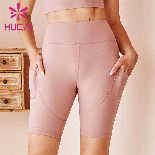 Customized Wholesale Sports Fitness 4-point Leggings