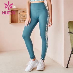 High Waist Printed Fitness Pants Wholesale Customization