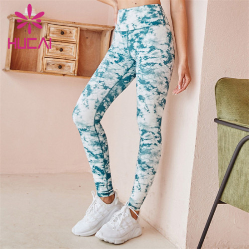 Customized Wholesale Printed Fitness Pants
