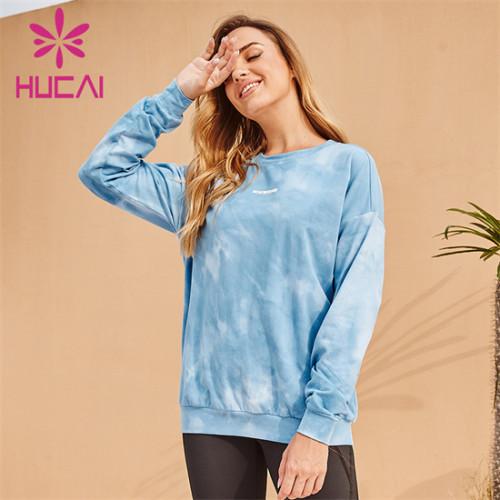 Customized Wholesale Printing Long Sleeve Sweatshirt