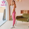 Wholesale Solid Color Sports Bra And Leggings Set