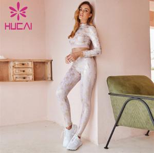 Customized Wholesale Gym Printing Sportswear Suit