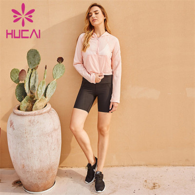 Breathable Sweatshirt And Cycling Shorts Suit Supplier