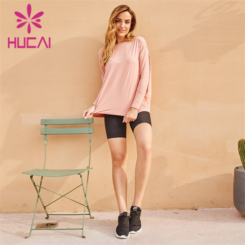 Manufacturer Of Solid Color Sweatshirts And Cycling Shorts Suits
