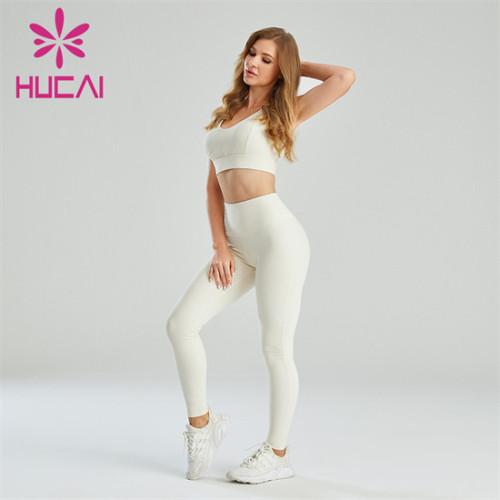 Hollow Design Sports Bra And Leggings Suit Wholesale