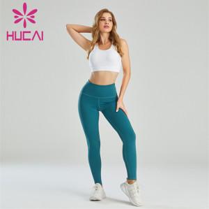 Customized Wholesale Sports Bra And Hip-lifting Leggings Set