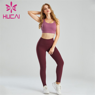 Manufacturer Of Solid Color Sports Bras And Yoga Pants