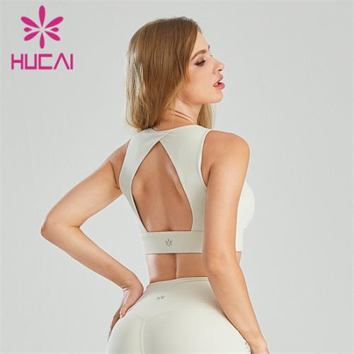 Customized Wholesale Sexy Backless Sports Bra
