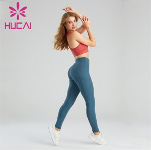 Wholesale Workout Clothes Leopard Fitness Loose athletic shirts Set