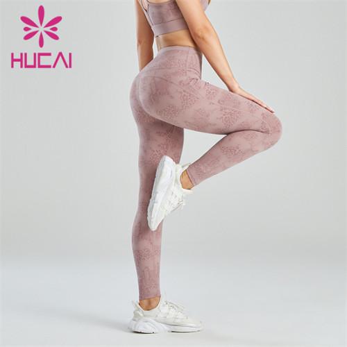 Fashion High Waist Printed Yoga Pants Wholesale Manufacturer